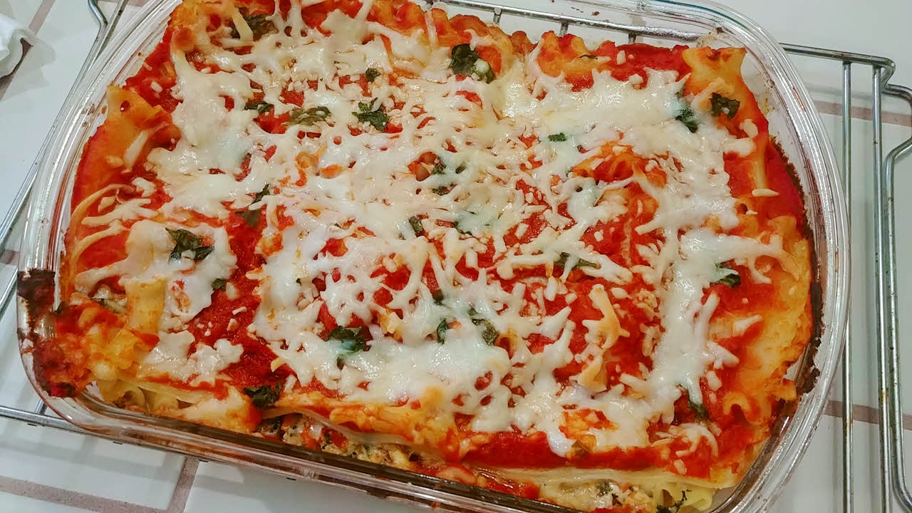 Spring Vegetables Lasagna
