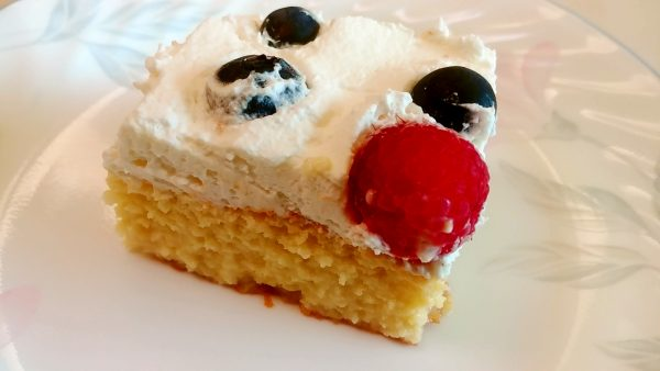 Tres Leches Cake Without Butter